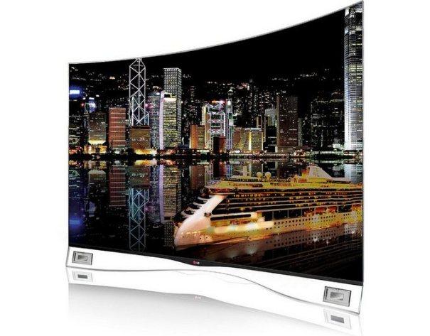 изогнутый LG OLED TV