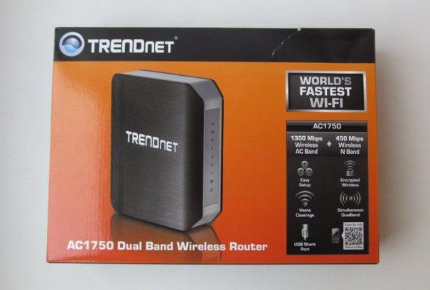 TRENDnet AC1750 - коробка