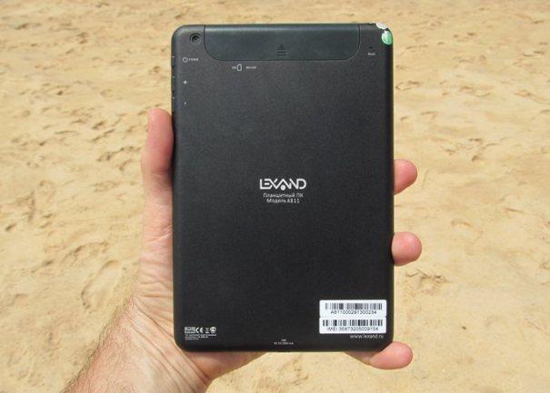 Lexand A811 - задняя панель