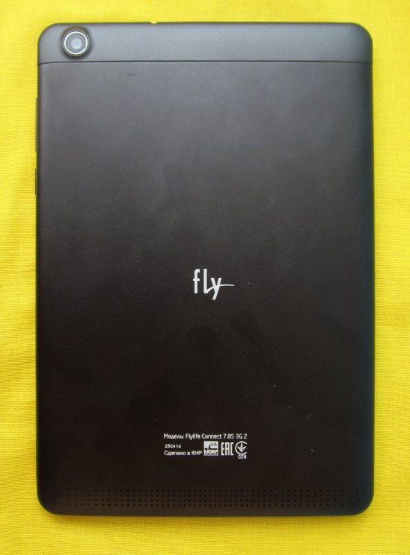 Fly Flylife Connect 7.85 3G 2 тыльная панель