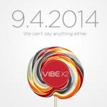 Lenovo приглашает на анонс смартфона Vibe X2 на платформе Android L