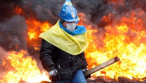 Фото Николая Тимченко 22.01.14 ЕвроМайдан