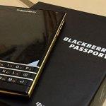 На рынке появится смартфон BlackBerry Passport в золотом корпусе