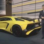 Lamborghini показала сверхбыстрый Aventador LP750-4 SV