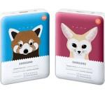 Samsung Electronics представляет специальную серию внешних аккумуляторов Animal Edition Battery Pack
