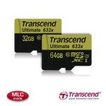 Transcend представила карты памяти microSD стандарта UHS-I Speed Class 3