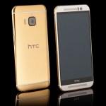 Стартовали продажи смартфона HTC One M9 в корпусе из золота