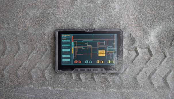 Latitude 12 Rugged Tablet in Gravel