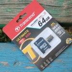 Transcend microSDXC Class 10 UHS-I U3 Ultimate 633x (64ГБ): быстрая и вместительная карта памяти!