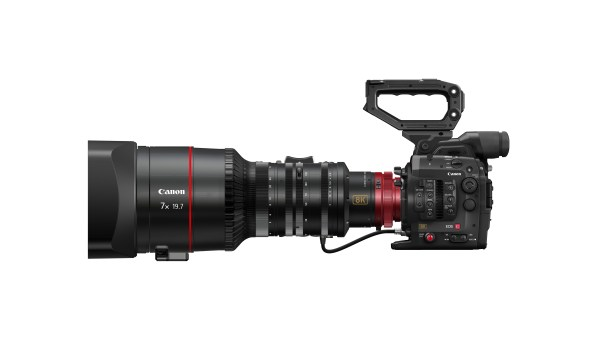 Cinema EOS System 8K camera