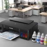 PIXMA G1400, G2400, G3400 — новые принтеры Canon с перезаправляемыми картриджами