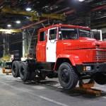 «АвтоКрАЗ» наращивает темпы производства грузовиков