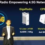 Huawei представила решение GigaRadio для массового развертывания коммерческих сетей 4.5G