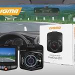 Digma FreeDrive 201 – бюджетный видеорегистратор с записью видео в HD-формате