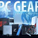 PC Gear: SSD, HDD, видеокарты, процессоры – по выгодным ценам