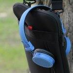 Maxxter CDM-102B-MV: недорогая гарнитура с отделкой из джинсовой ткани
