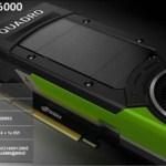 Quadro P6000 и другие анонсы NVIDIA на Siggraph