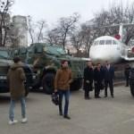 «КрАЗ» презентовал военным атташе бронированную технику