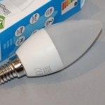 EnerGenie EG-LED5W-E14K40-11 – «тонкая» светодиодная лампочка за «копейки»