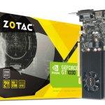 Графические карты ZOTAC на основе GeForce GT 1030