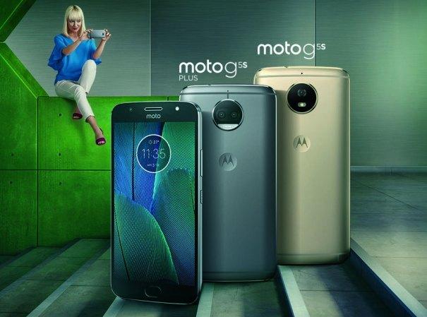 Motorola Moto G5S и G5S Plus