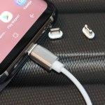 Cablexpert CC-USB2-AMLM31-1M – USB-кабель с магнитными адаптерами за недорого!