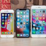 Apple iPhone X, 8 и 8 Plus показывают продажи ниже, чем iPhone 7 и 7 Plus