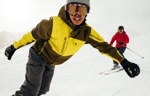 Apple Watch Series 3 лыжи