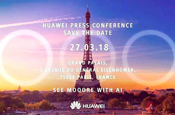 Huawei P20 запуск