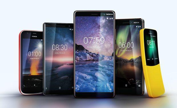 Nokia смартфоны 2018
