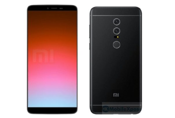 Xiaomi Redmi Note 5 рендер