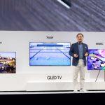 Samsung показал телевизоры QLED TV с Direct Full Array и Ambient Mode