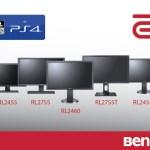 Профессиональные киберспортивные мониторы ZOWIE RL серии официально лицензированы для PlayStation4