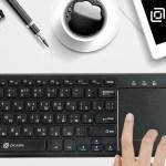 OKLICK 830ST — компактная клавиатура со встроенным тачпадом
