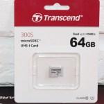 Transcend microSDXC 300S (TS64GUSD300S) – карта памяти для смартфонов, снимающих 4К