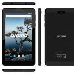 DIGMA Plane 7556 3G — дешевый металлический 4G-планшет