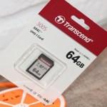 Transcend SDXC/SDHC 300S (TS64GSDC300S): запись видео 4K Ultra HD без рывков!