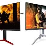 AOC представляет игровые мониторы AGON 3-го поколения
