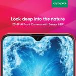 OPPO F9 получит 25 Мп селфи-камеру и пару задних камер по 16 Мп