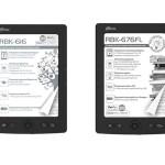 RBK-616 и RBK-676FL — новые электронные книги от Ritmix