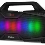 Новая портативная акустика SVEN PS-480