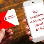 4G от Vodafone появилось в Константиновке, Каменском и еще нескольких населенных пунктах юга и запада Украины