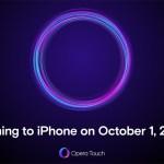 Opera выпустит браузер Opera Touch для iPhone 1 октября