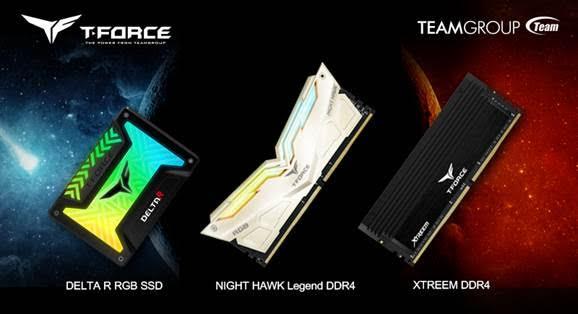 Накопитель TEAMGROUP T-Force Gaming Luminous SSD и память класса high-end выпущены в новых моделях
