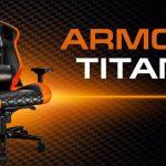 Мощное игровое кресло COUGAR ARMOR TITAN