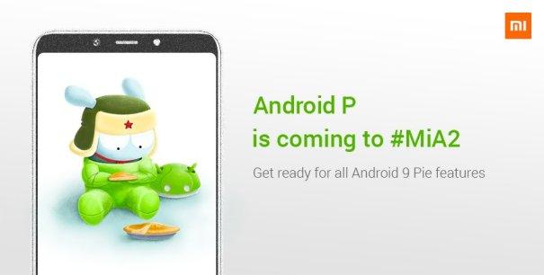 Xiaomi Mi A2 получает Android 9.0 Pie