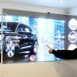 LG представила инновационную технологию Transparent OLED Signage