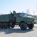 Еще один специальный вездеход КрАЗ-6322 для ВСУ