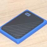 WD My Passport Go 500 ГБ Blue (WDBMCG5000ABT-WESN) – SSD с хорошими скоростями и встроенным кабелем