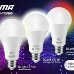 DIGMA представил новые «умные» лампочки